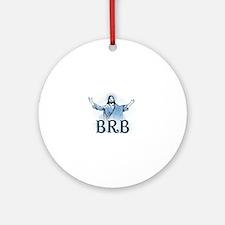 Cute Funny catholic Round Ornament