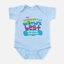 Spanish Teacher Gift for Kids Infant Bodysuit