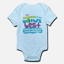 Speech Language Pathologist Gift f Infant Bodysuit