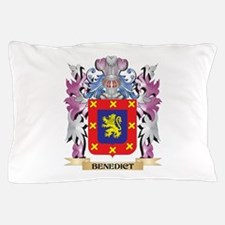 Benedict Coat of Arms (Family Crest) Pillow Case