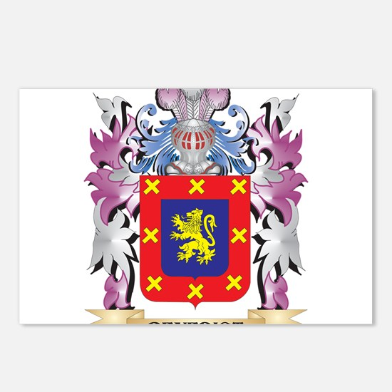 Benedict Coat of Arms (Fa Postcards (Package of 8)
