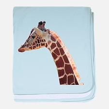 Sweet Giraffe baby blanket