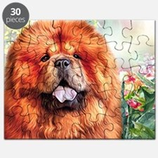 Chow Chow Painting Puzzle
