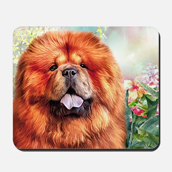 Chow Chow Painting Mousepad