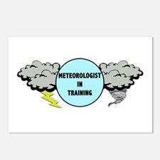 Meteorologist in Training Postcards (Package of 8)