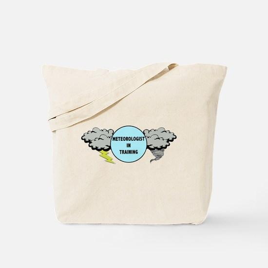 Meteorologist in Training Tote Bag