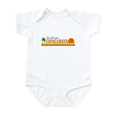 Visit Beautiful Copacabana Infant Bodysuit