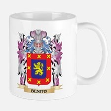 Benito Coat of Arms (Family Crest) Mugs