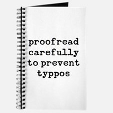 proofread carefully Journal