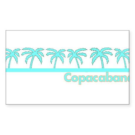 Copacabana Rectangle Sticker