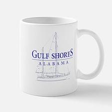 Gulf Shores Sailboat - Mug
