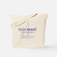 Gulf Shores Sailboat - Tote or Beach Bag