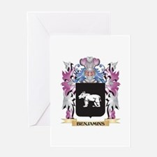 Benjamins Coat of Arms (Family Cres Greeting Cards