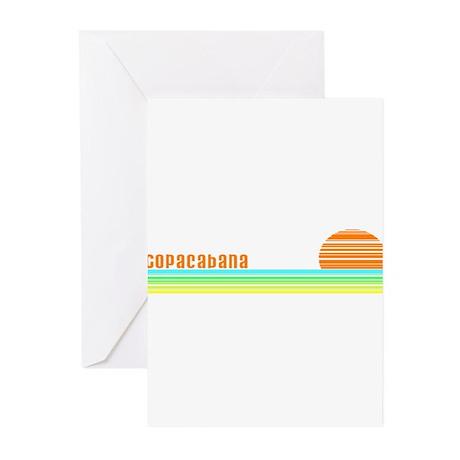 Copacabana Greeting Cards (Pk of 10)