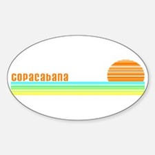 Copacabana Oval Decal