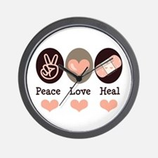 Heal Nurse Doctor Wall Clock