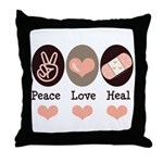 Heal Nurse Doctor Throw Pillow