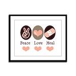 Heal Nurse Doctor Framed Panel Print