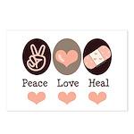 Heal Nurse Doctor Postcards (Package of 8)
