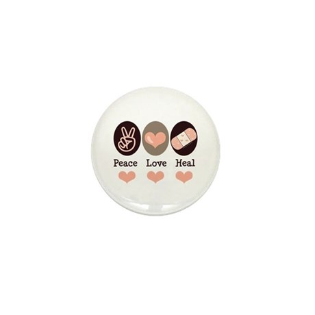 Heal Nurse Doctor Mini Button