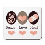 Heal Nurse Doctor Mousepad