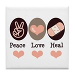 Heal Nurse Doctor Tile Coaster