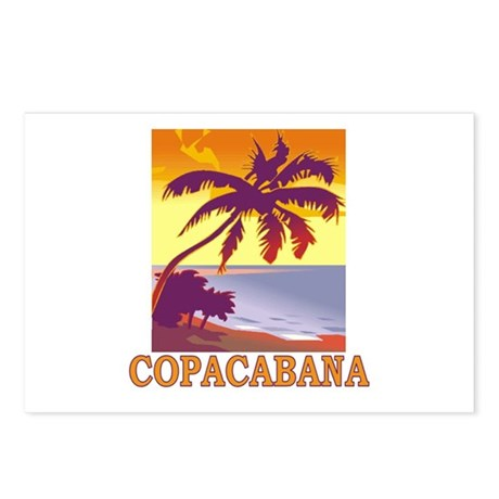 Copacabana Postcards (Package of 8)