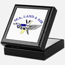 Sea Land Air Keepsake Box