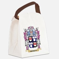 Bennett Coat of Arms (Family Cres Canvas Lunch Bag