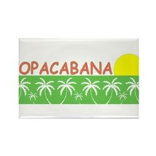Copacabana Rectangle Magnet