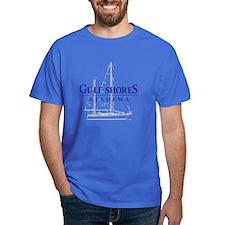 Gulf Shores Sailboat - T-Shirt