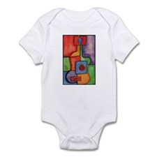 Colorfull Guitar Baby One Piece