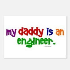 My Daddy Is An Engineer (PRIMARY) Postcards (Packa