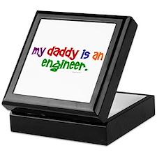 My Daddy Is An Engineer (PRIMARY) Keepsake Box