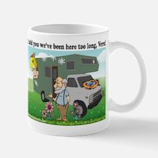 Funny RV bird design Mugs