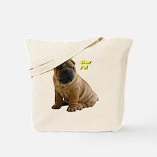 Unique Shar pei Tote Bag