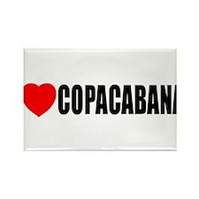 I Love Copacabana Rectangle Magnet