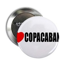 "I Love Copacabana 2.25"" Button"