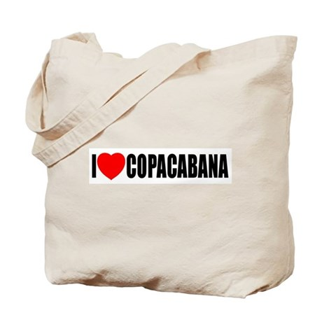 I Love Copacabana Tote Bag