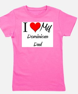 Cute Dominican Girl's Tee