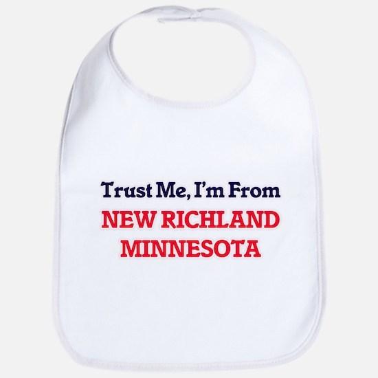 Trust Me, I'm from New Richland Minnesota Bib