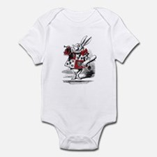 The White Rabbit Baby One Piece