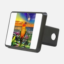 Sun Conure at Sunset Hitch Cover