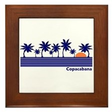 Copacabana Framed Tile