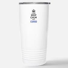 I can't keep calm Im CU Stainless Steel Travel Mug