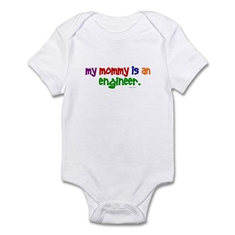 My Mommy Is An Engineer (PRIMARY) Infant Bodysuit