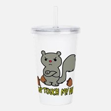Don't Touch My Nuts Acrylic Double-wall Tumbler