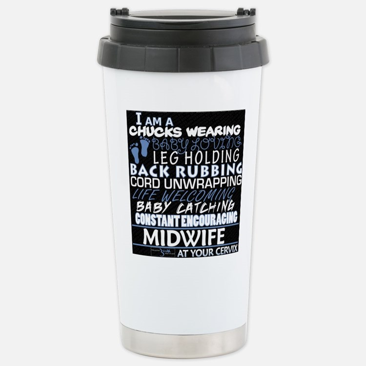Cute Midwife Travel Mug