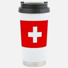Flag of Switzerland Stainless Steel Travel Mug