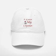 i love my corpsman Baseball Baseball Cap